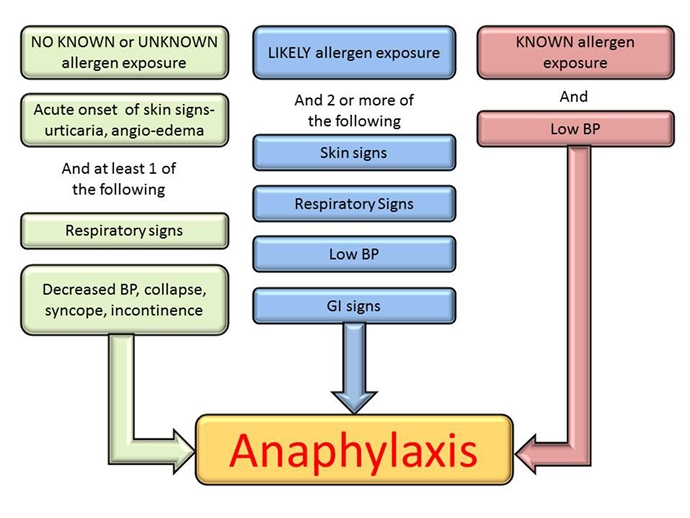 a look at ways of treating anaphylaxis Anaphylaxis: webmd explains how to recognize an anaphylactic reaction and how to get help anaphylaxis is a severe allergic reaction that needs to be treated right away if you have an anaphylactic reaction, you need an epinephrine (adrenaline) shot as soon as possible, and someone.